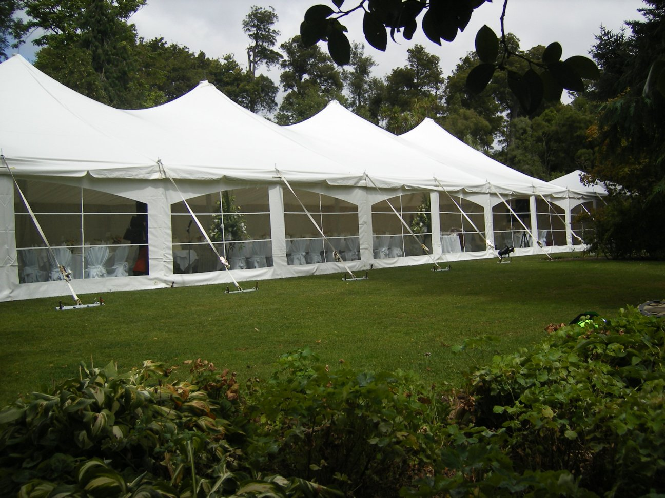 Peg Pole Marquee Hire