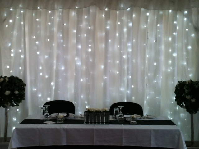 fairy light curtain hire fairy light hire. Black Bedroom Furniture Sets. Home Design Ideas