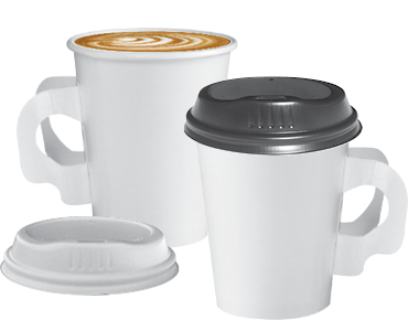 Coffee Cup 280ml With Handles Party Hire Weddings